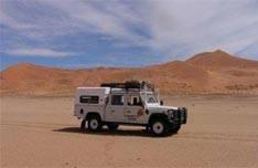 Namib Desert with Charlys Desert Tours